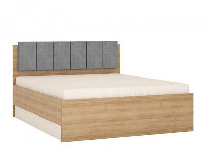 CANTUS postel 160, dub riviéra světlý/bílá