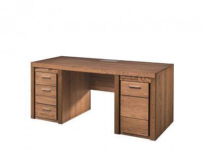 VANCOUVER 37 pracovní stůl, dub rustikal