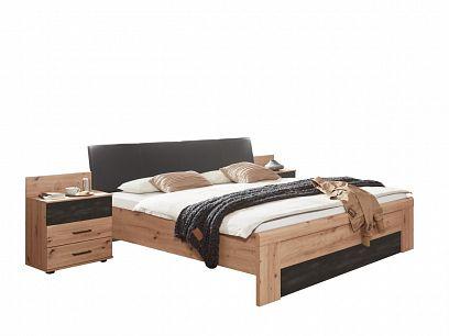 DIEGOS 139 postel 180, dub artisan/šedá