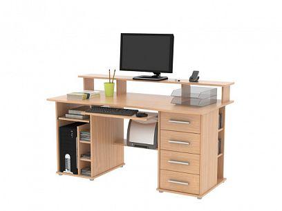 FRANCESCO 4S psací stůl, buk