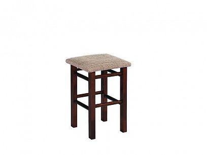 Taburet jídelní židle, ořech
