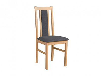 BOSANOVA 14 jídelní židle, dub sonoma/šedočerná