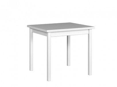 MAXMILIÁN 9 jídelní stůl, bílá/borovice andersen