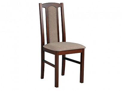 BOSANOVA 7 jídelní židle, ořech/béžovohnědá