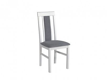 NIEL II jídelní židle, bílá