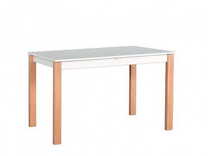 ALBATROS 2 Jídelní stůl, bílá/borovice andersen/buk