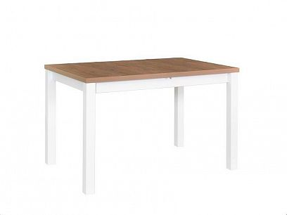 Maxmilián V Jídelní stůl, dub grandson/bílá