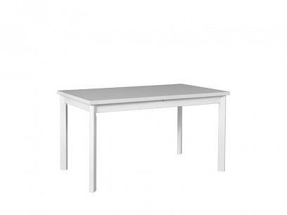 Maxmilián 5P rozkládací jídelní stůl, bílá