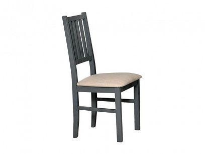 NIEL 7 jídelní židle, grafit/bílá káva