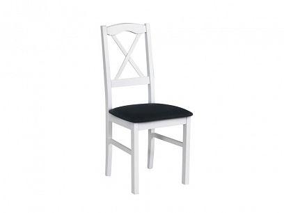 NIEL 11 jídelní židle, bílá/černá
