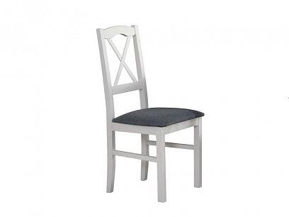NIEL 11 jídelní židle, bílá/šedá