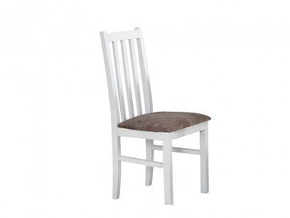 Bosanova X jídelní židle, bílá/béžová