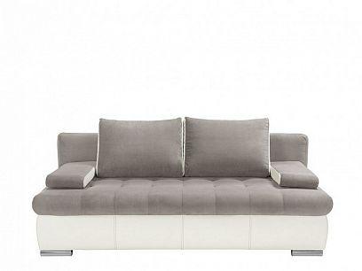 Olimp II Lux Pohovka, Gordon 91 silver/Madryt 920 white, bílá/šedá