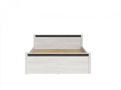 SALINS manželská postel, LOZ/160 Modřín sibiu světlý