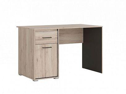 RONSE psací stůl BIU/120, dub san remo světlý/šedý wolfram