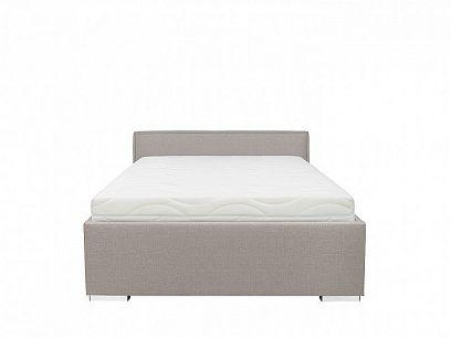 ANADIA II postel 140, stříbrná