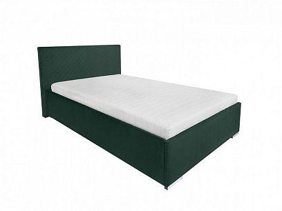 SYNTIA III čalouněná postel 120, zelená