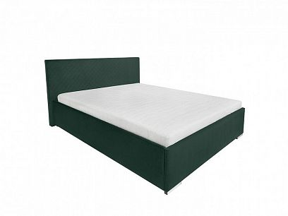 SYNTIA III čalouněná postel 160, zelená