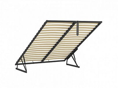 ERGO SPACE 180 - kovový rám s lamelami do čalouněných postelí