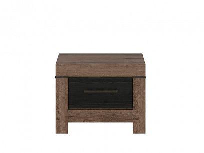 BALIN noční stolek KOM1S, dub monastery/dub černý